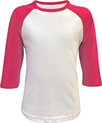 5a6c04e9a Kids & Youth Baseball Raglan T-Shirt 3/4 Sleeve Infant Toddler Youth  Athletic