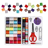 Sewing Thread 100 Quantity Mixed Colors Sewing Kit