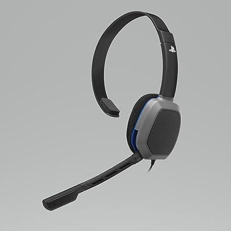 Pdp - Auriculares Chat Mono LVL 1 con Licencia Oficial Sony (PS4): Amazon.es: Videojuegos