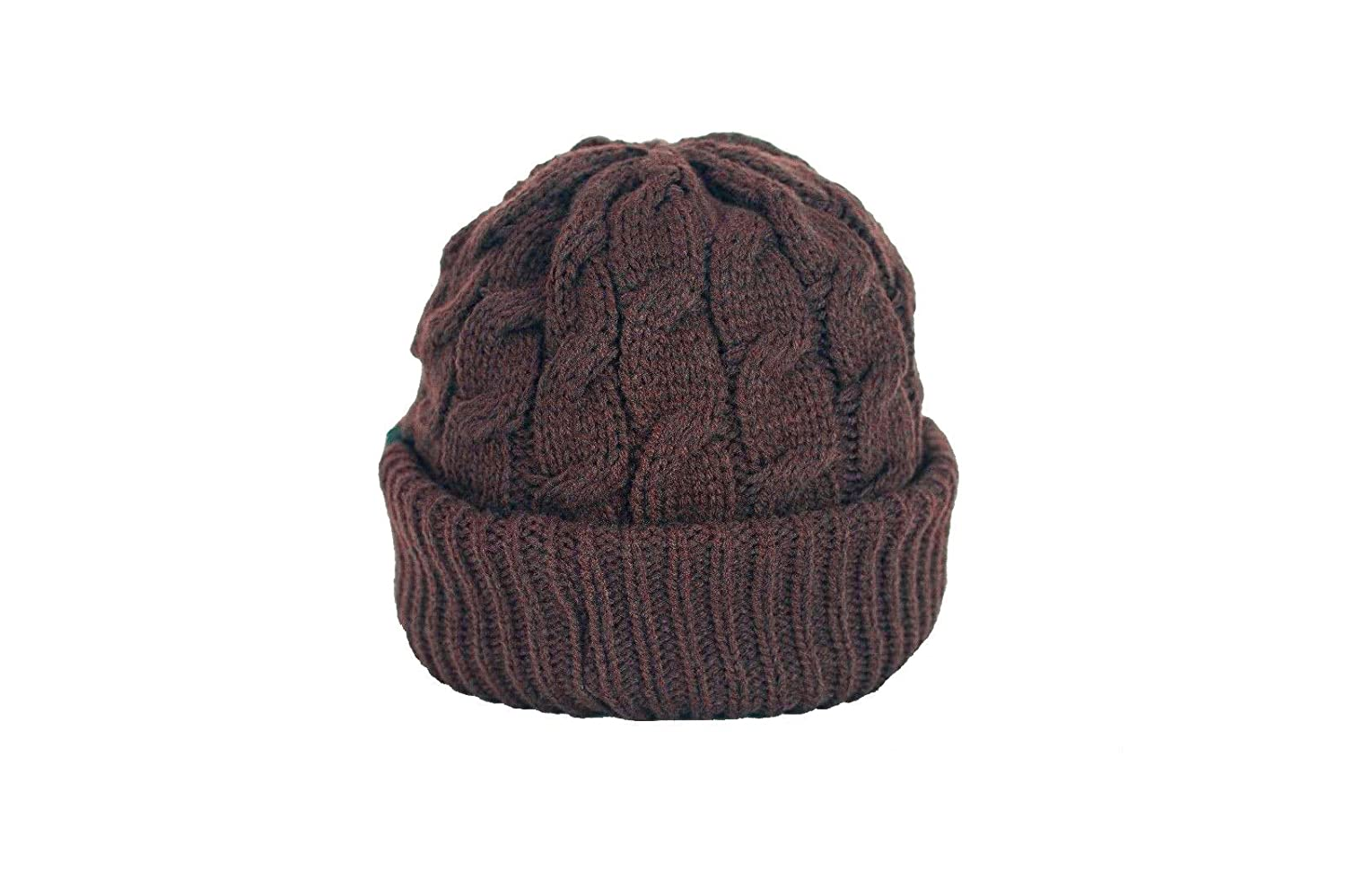 81b10efd611 Urbanhatshop Newsboy Cable Knitted Visor Beanie Bill Winter Warm Hat All  Colors