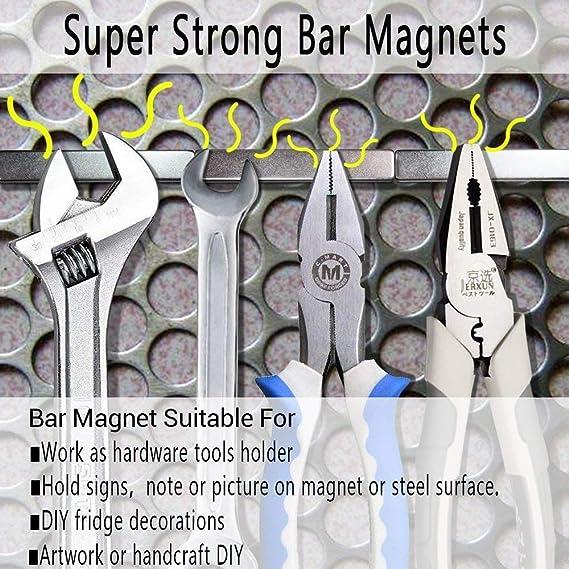 5 unidades Magnets, Super rectángulo Imán de neodimio-60 x10 x 3 mm, Utilizado en el Refrigerador, Experimento científico, diseño de DIY, ...