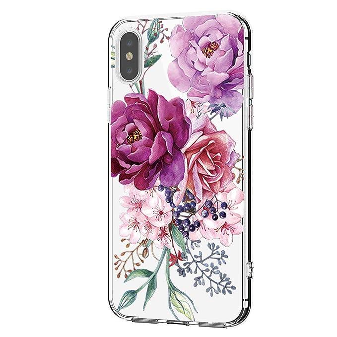 Carcasa iPhone XR Cover Crystal TPU Silicona Resistente al ...