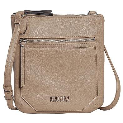 91e8b7330 Kenneth Cole Reaction Cassady Mini Cross body Bag (Sesame): Amazon.co.uk:  Shoes & Bags