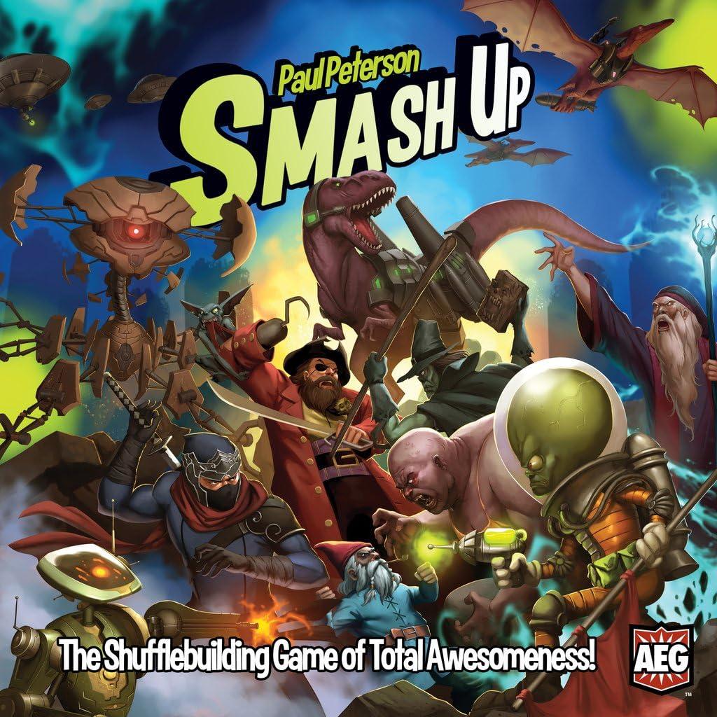 Smash Up Paul Peterson Juego de Mesa (en inglés): Amazon.es ...
