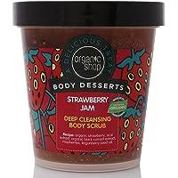 Organic Shop Organic Shop Body Desserts Strawberry Jam Deep Cleansing Body Scrub 450ml.