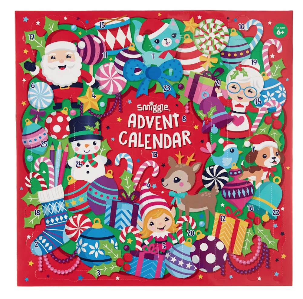 Smiggle 2018 Advent Calendar with Gifts