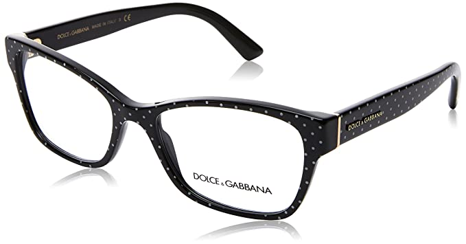 46f1a947ddf Image Unavailable. Image not available for. Color  Eyeglasses Dolce  amp  Gabbana  DG ...