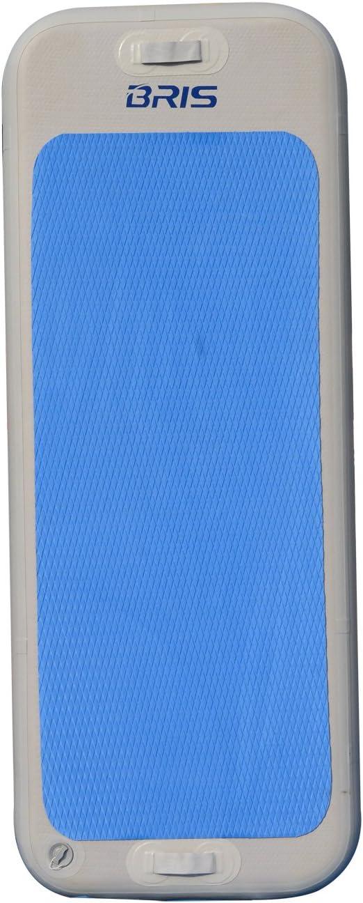 BRIS Inflatable Floating Yoga Mat Air Tumbling Track for Gymnastics Air Floor Fitness