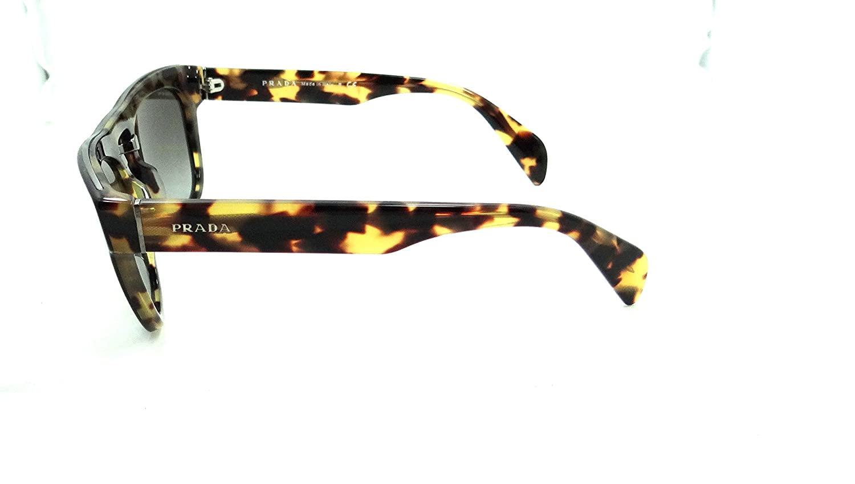 66ded1a3c ... hot prada sunglasses spr 10p nai 0a7 54x19 black havana grey gradient  amazon clothing accessories 0ce1c ...