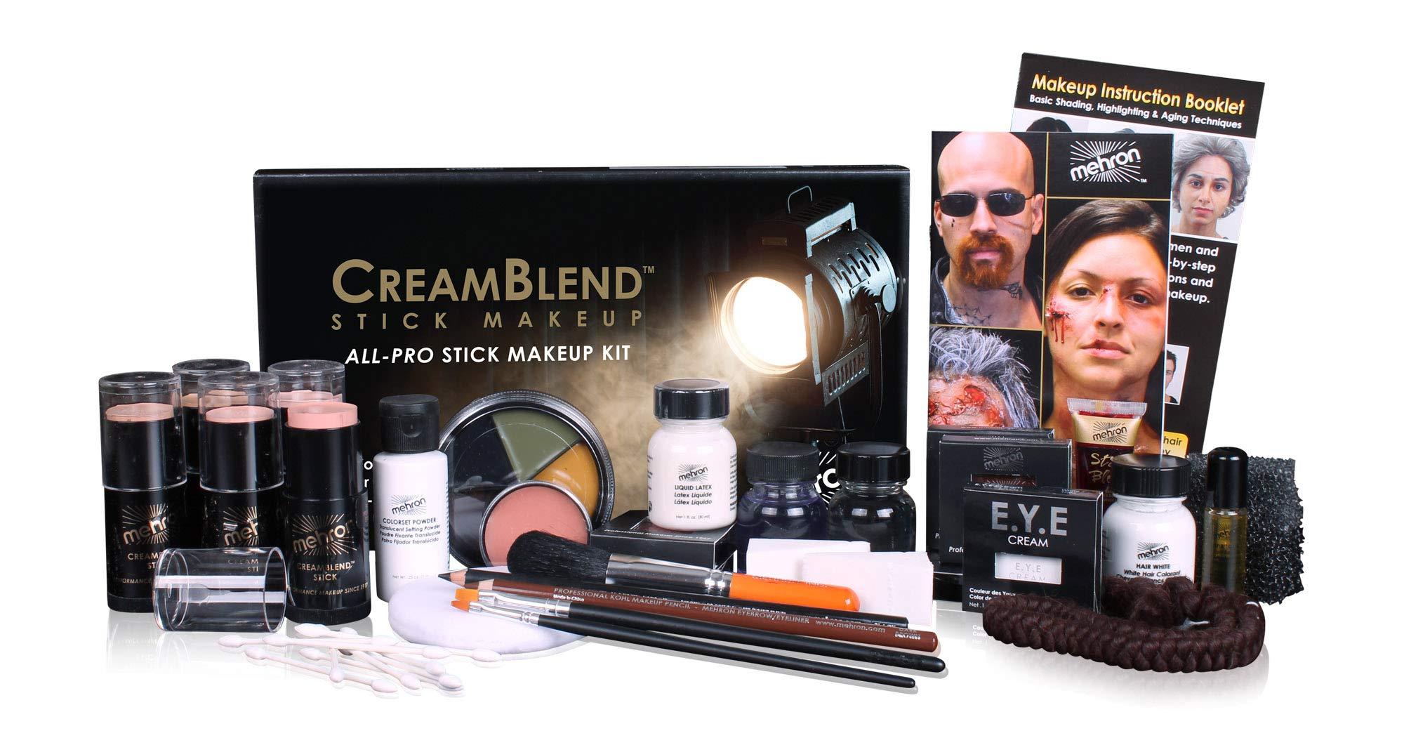 Mehron Makeup Creamblend All-Pro Student Makeup Kit (Fair) by Mehron (Image #1)