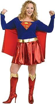 Disfraz de Supergirl de lujo para mujer: Amazon.es: Juguetes y juegos