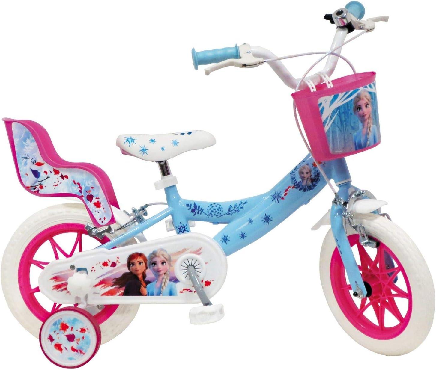 """Mondo Bicicleta 12"""" Frozen, Color Blanco y Azul Claro, 4 à 5 ..."""