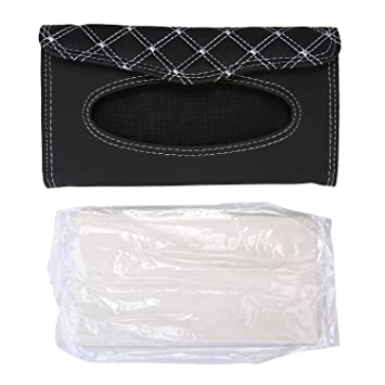 Car Tissue Box Niceeshoptmcar Sun Visor Tissue Bag Storage Handy