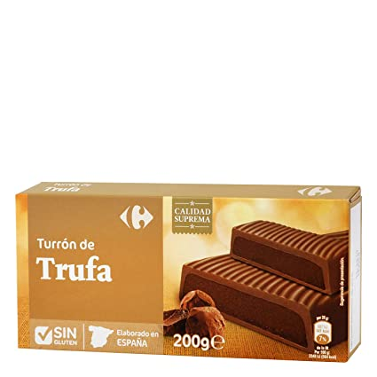 5 Pack Carrefour Chocolate-Coated Spanish Nougat 200g - Made ...