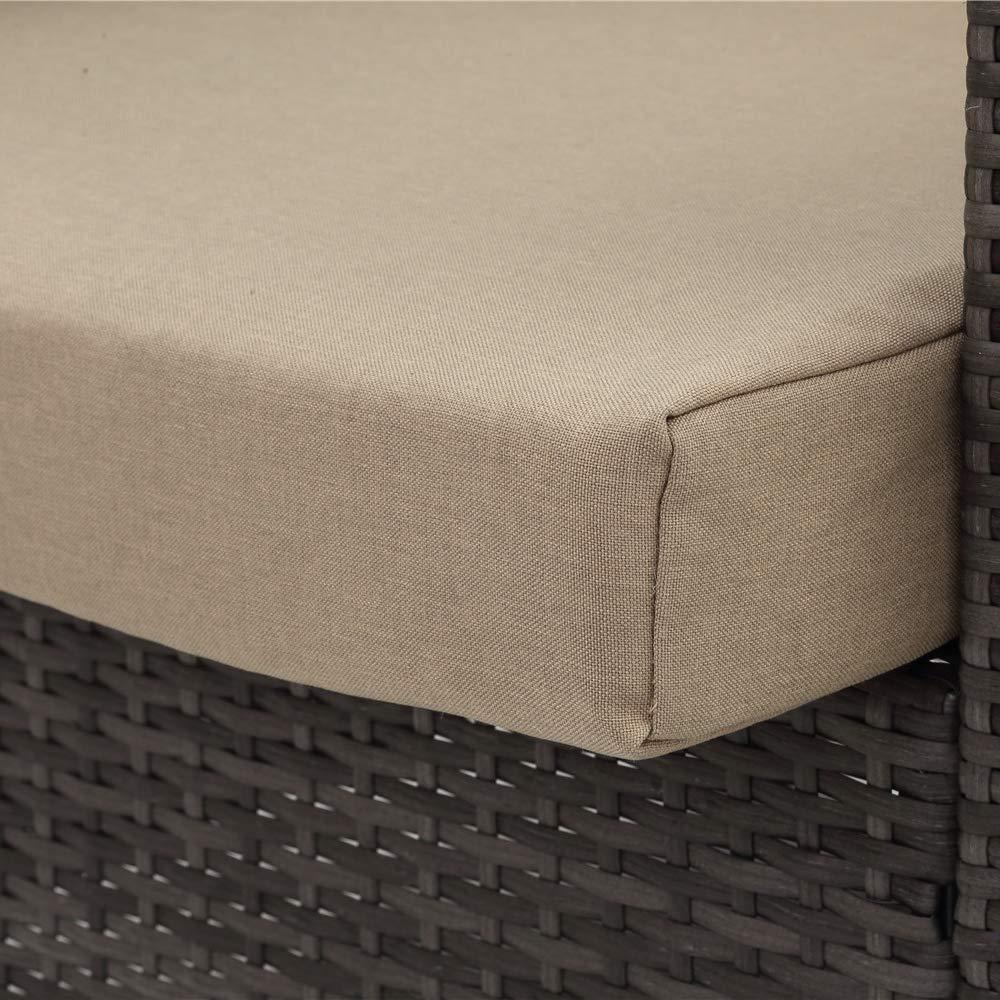 Amazon.com: Wisteria Lane Juego de muebles de exterior de 5 ...