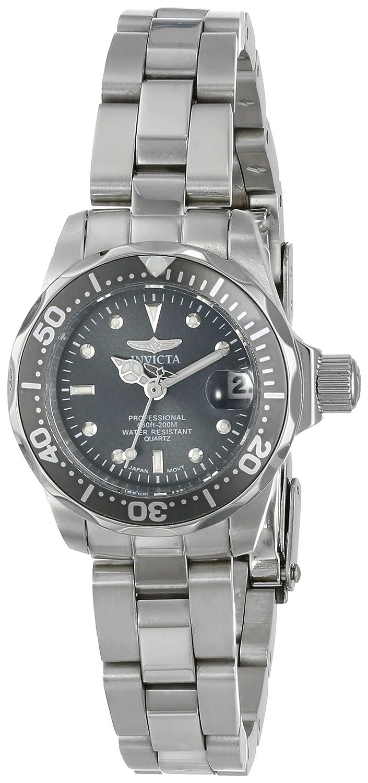 Amazon.com  Invicta Women s 14984 Pro Diver Analog Display Swiss Quartz  Silver Watch  Invicta  Watches a672ba8fe