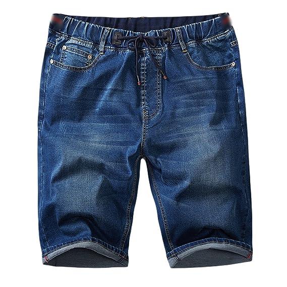 Herren Bermuda Shorts Jogg Jeans Shorts kurze Hose Bermuda