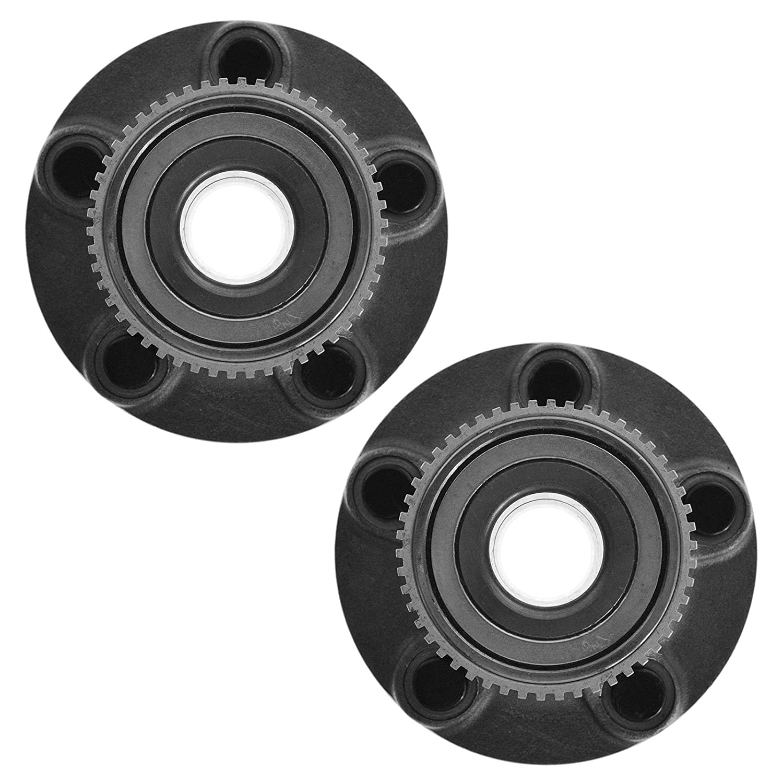 TRQ Rear Wheel Hub /& Bearing Left /& Right Pair Set for Ford Taurus Mercury Sable