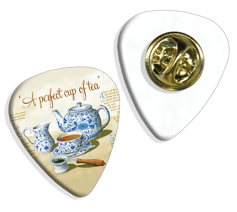 Perfect Cup Of Tea Martin Wiscombe Púa Para Guitarra Badge Vintage ...