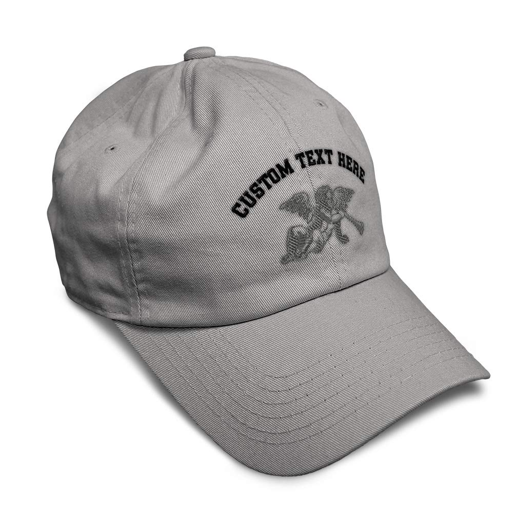 Custom Soft Baseball Cap Angel with Horn Embroidery Dad Hats for Men /& Women