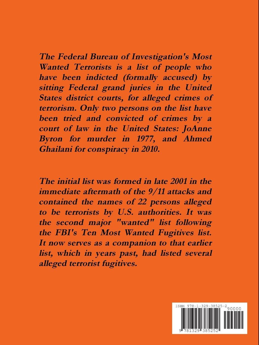 Buy Fbi's Most Wanted Terrorists Book Online at Low Prices