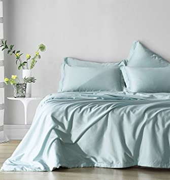 5616f5b94aa1 Amazon.com  DuShow Solid Egyptian Cotton Duvet Cover Set Queen