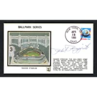 $38 » Phil Rizzuto Autographed First Day Cover New York Yankees SKU #156779 - MLB Cut Signatures