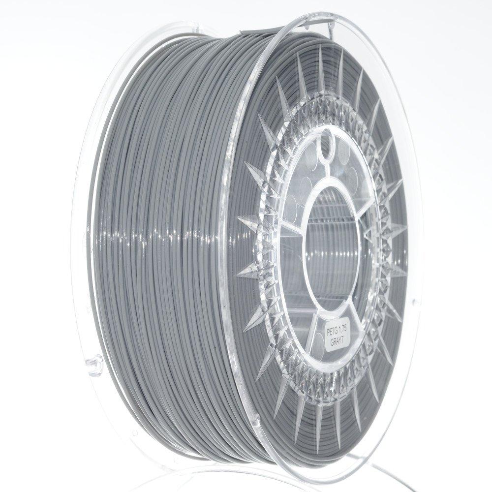 NuNus PETG Filament 1KG (1.75mm, gelb) * PET-G - Polyethylenterephthalat * Premium Qualitä t in verschiedenen Farben,geeignet fü r 3D Drucker,3D Pen, MakerGear Ultimaker uvm