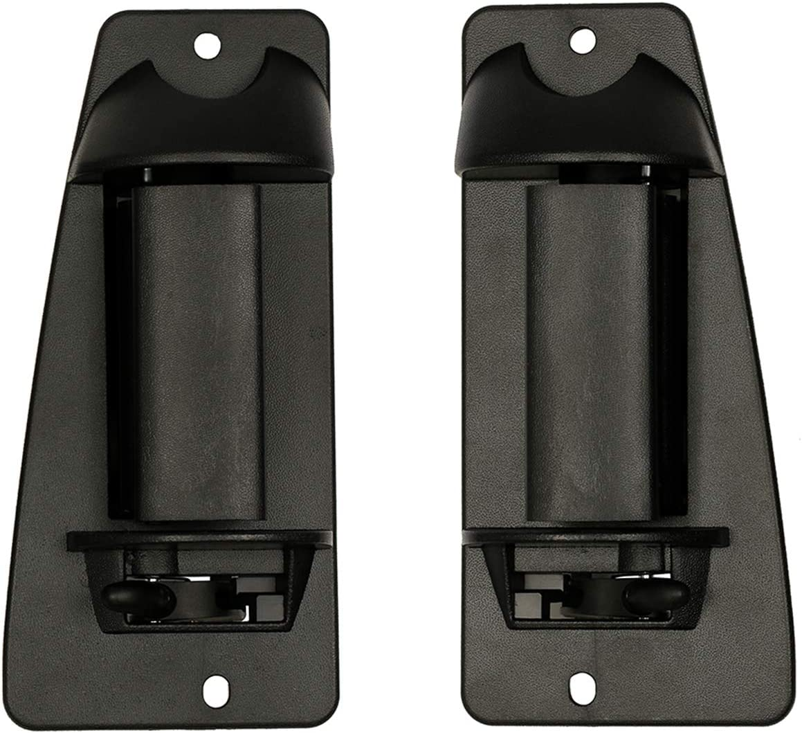 Extended Cab Door Handle Rear Left Driver and Right Passgenger Side   for 1999-2007 Chevy Silverado GMC Sierra 1500 2500 3500   Replaces# 15758171, 15758172