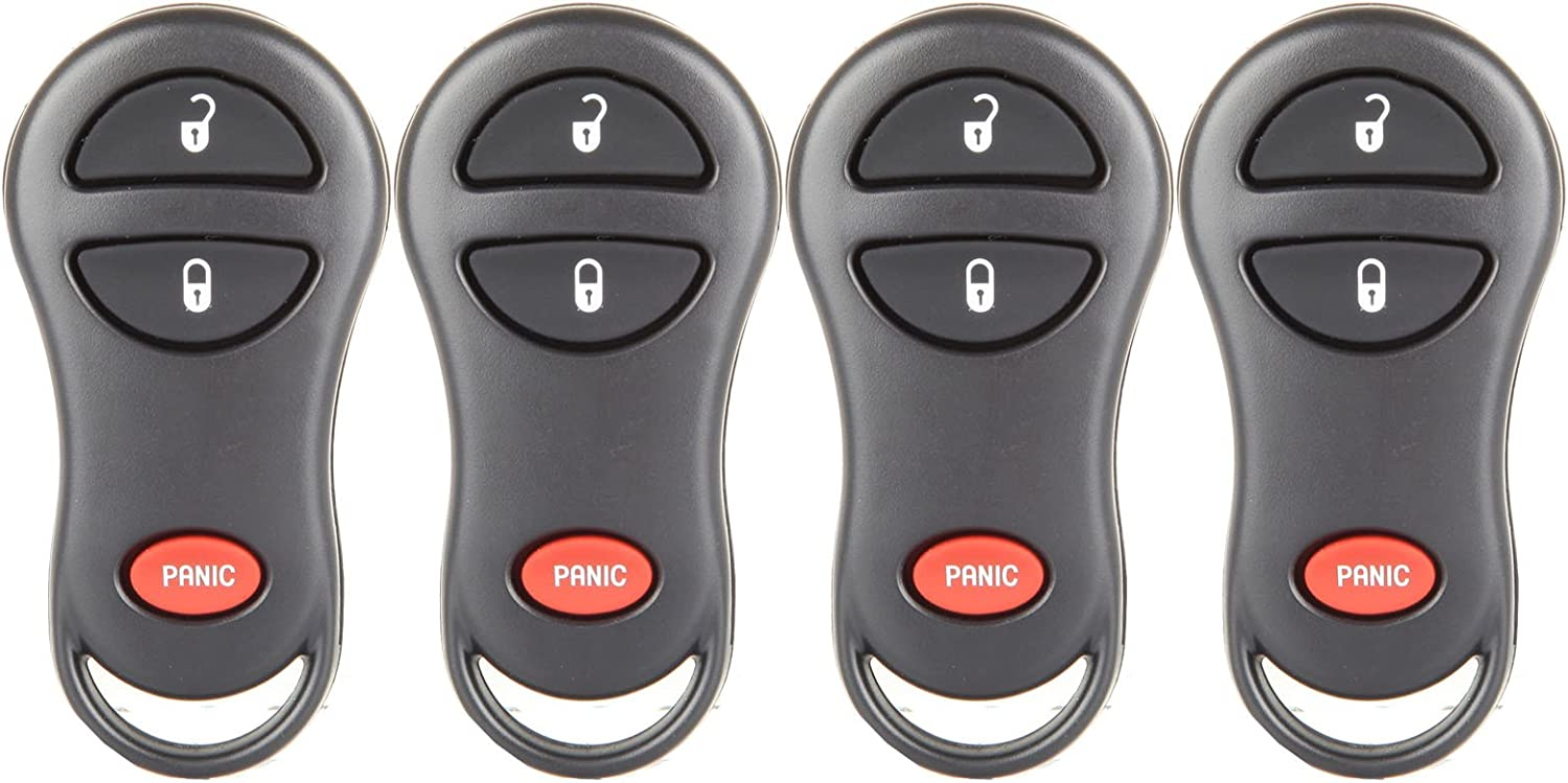 ZENITHIKE Replacement Keyless Entry Smart Proximity Remote Key Fob 4 buttons fit for 99 00 01 02 03 04 05 06 07 08 Pontiac Vibe TOYOTA Camry Corolla Matrix Sienna Solara X 1 ship From USA