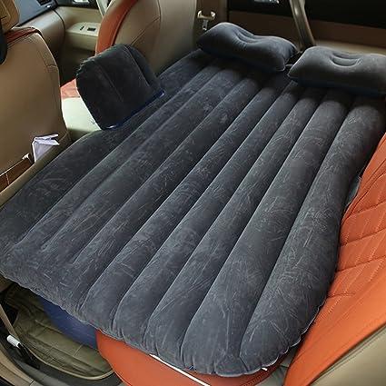 Inflatable SUV Car Travel Mattress Air Bed Rear Seat Sleep Rest Cushion Pillow
