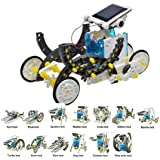 CHENTYTECH 13 in 1 Solar Robot DIY Solar Robot Kit Educational Solar Robot Build Your Own Robot for Kids