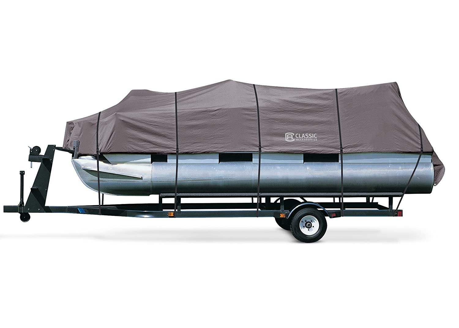 Classic Accessories Stormpro Pontoon Boat Cover, Fits 21 Feet-24 Feet 20-028-090801-00
