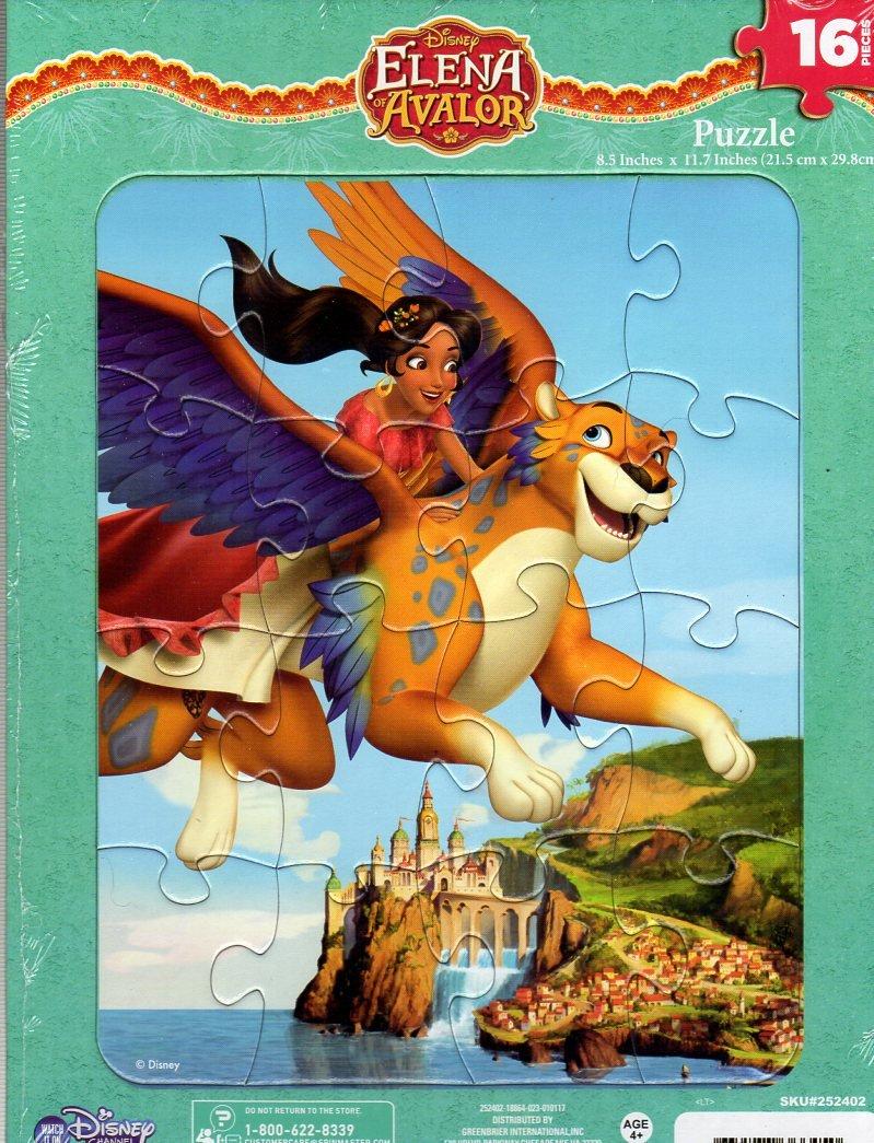Disney Elena of Avalor 16 Pieces Jigsaw Puzzle v2 Cardinal SG/_B06XSXQ3SD/_US