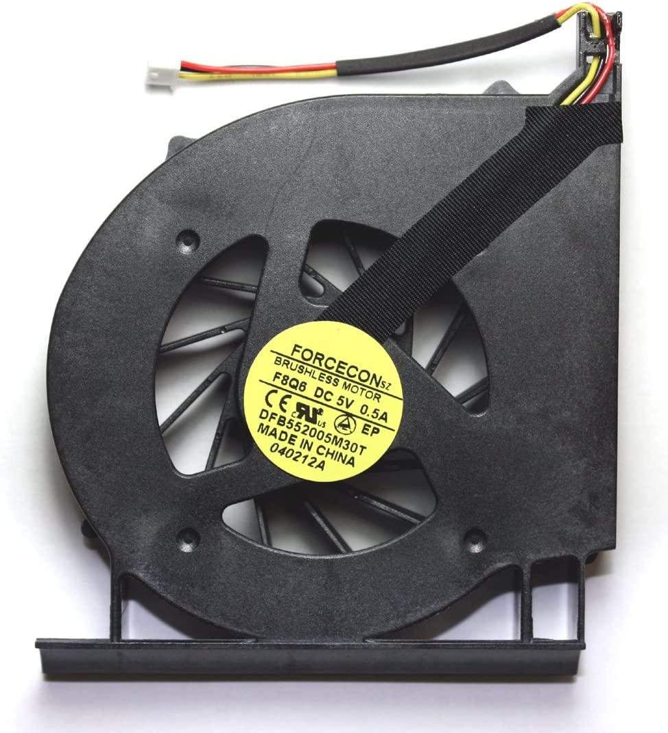 Power4Laptops Version 1 (Please Check The Picture) Replacement Laptop Fan for HP G71-340US, HP G71-343US, HP G71-345CL, HP G71-347CL, HP G71-349WM
