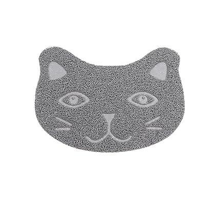 Daeou Cama para Mascotas PVC Alfombra pie Gato Gatos Perro Mat Mat