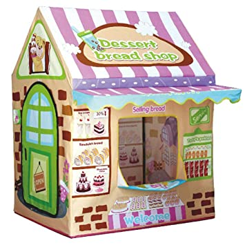 Kids Play House TentLwang Playhouse Bread House for Girls and Boys Play Tent Great  sc 1 st  Amazon.com & Amazon.com: Kids Play House TentLwang Playhouse Bread House for ...