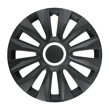 Amazon.com: Lampa 31526 Black Avalone Pro Set of Hub Caps, 14 Inches: Automotive