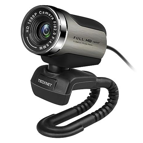 TeckNet Webcam USB Full HD 1080P con Microfono Stereo per FaceTime Video  Chat Registrazione 064a6f727abf