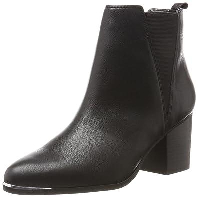 Flaknei Ankleboot, Bottines Femme, Noir (Black 01001), 41 EUSteve Madden