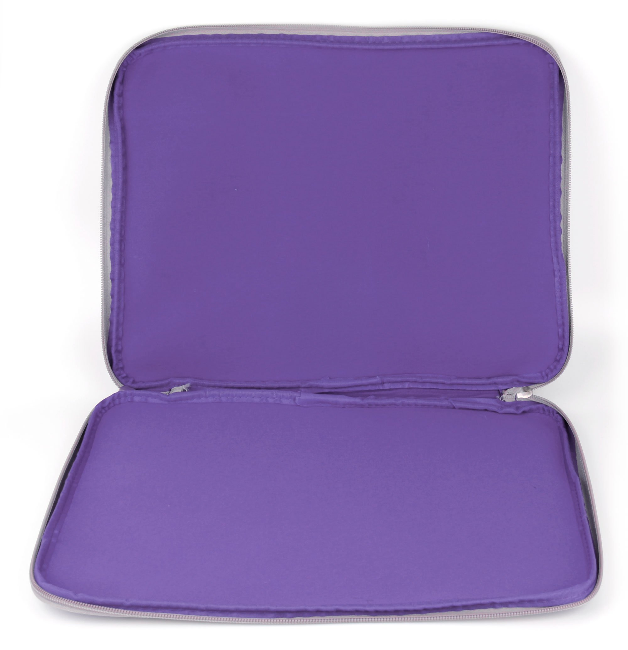 DURAGADGET Purple Travel Water Resistant & Shock Absorbent Neoprene Laptop Sleeve with Dual Zips Compatible with The Lenovo Ideapad 110 15'' | Ideapad 305 15.6'' Laptop by DURAGADGET (Image #3)