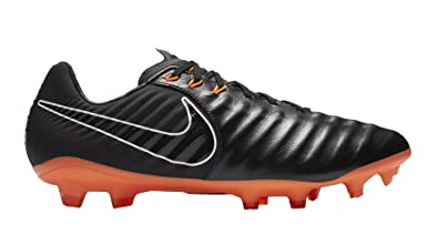 Nike Legend 7 Pro FG Men Soccer Cleats-Black Orange Size 5.5
