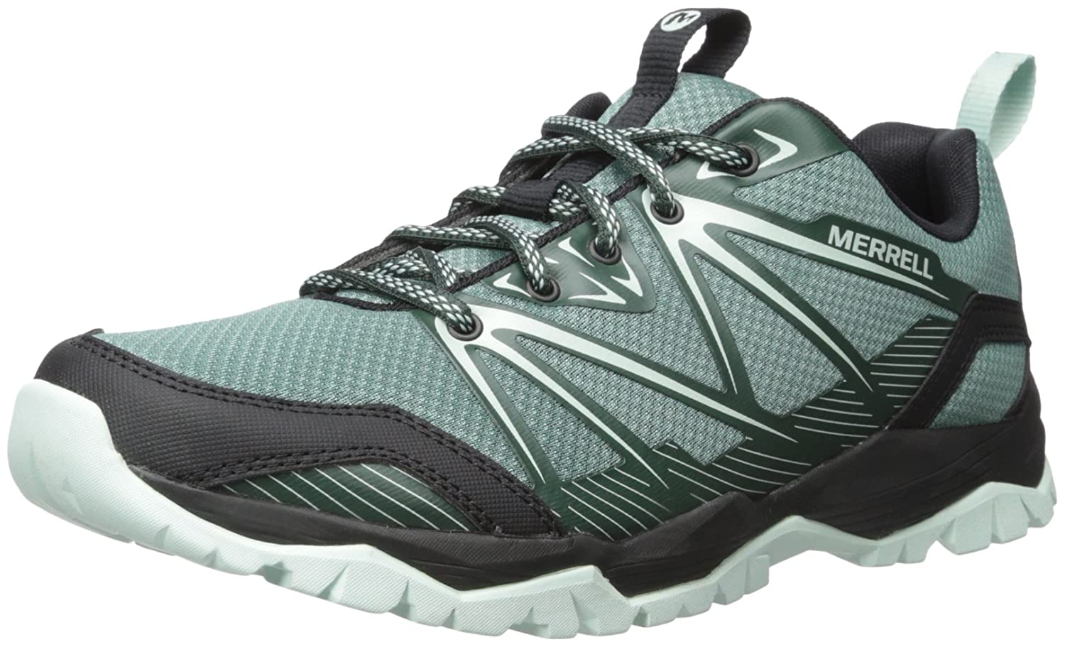 Merrell Women's Capra Rise-W Hiking Shoe B018WDT4T4 6 B(M) US|Sagebrush Green