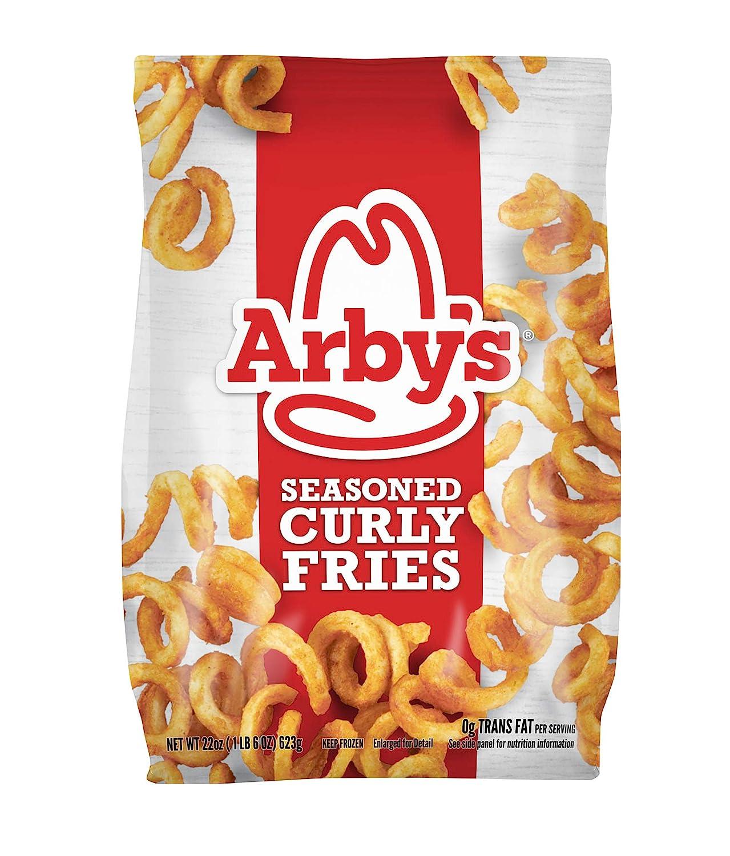 Arby's Seasoned Curly Fries, 22 oz (Frozen)