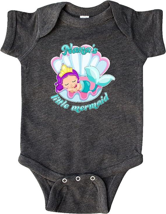 Nanas Little Princess Girls Cute Long Sleeve Bodysuit Girl boy Infant Toddler Baby Clothes Creeper