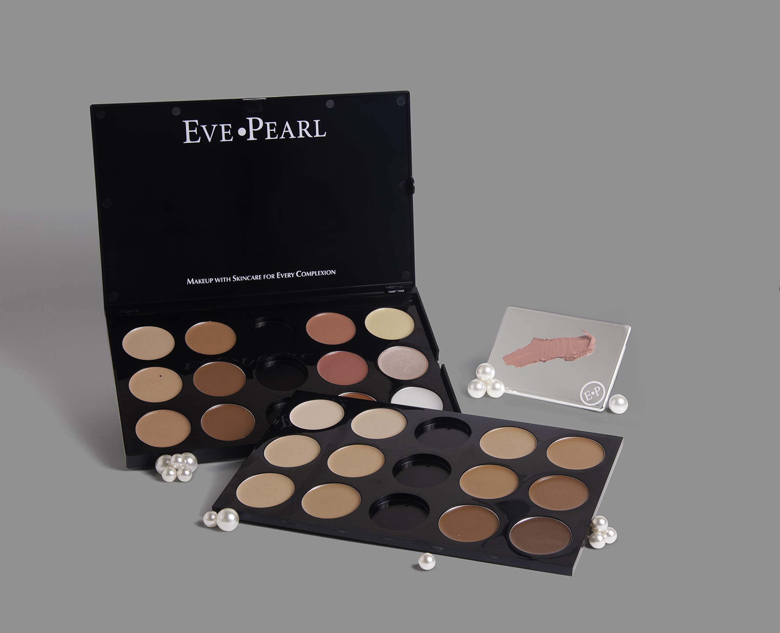 EVE PEARL HD Pro Palette Essential Makeup Artist Palettes Travel Friendly Make Up Set Beauty Sleek Palette