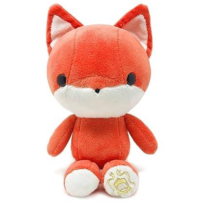 amazon com bellzi orange fox stuffed animal plush toy adorable