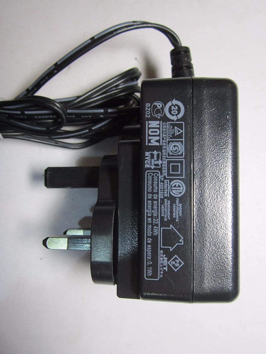 12V DC 1500mA Mains AC-DC Switching Adapter for X Rocker Gaming Chair 12 Volt