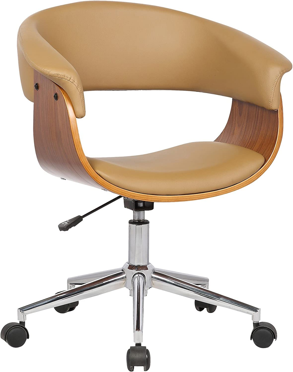 Porthos Home Atrium Comfortable Executive Height Adjustable, Durable, as a Home Office Chair, One Size, Natural