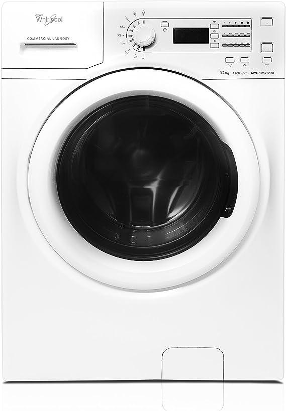 Whirlpool awg1212/Pro lavadora, 12 kg, Color blanco: Amazon.es ...